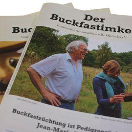 """Anschreiben für den """"Buckfastimker"""""""