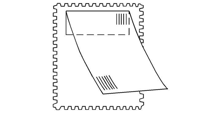 Пошта маркасындағы жапсырма