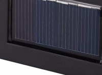Solar Panel Wall Path Light