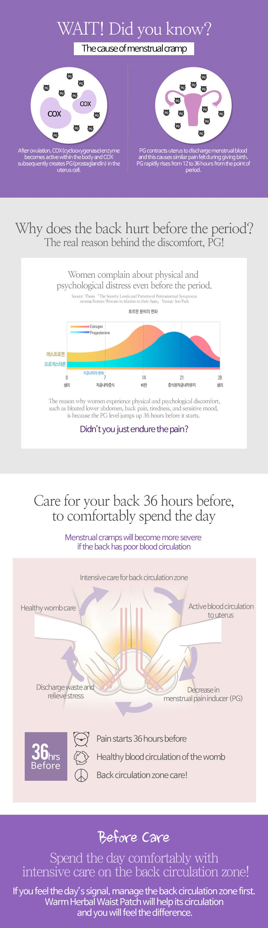 medium resolution of  korea hit item herbal heat pack 30 3 or 20 2 event menstrual cramps relief 2 types