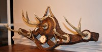 Deer Antler Coat Rack