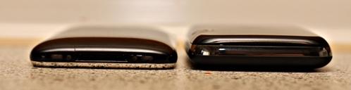 Mifi 2352 Größenvergleich mit iPhone