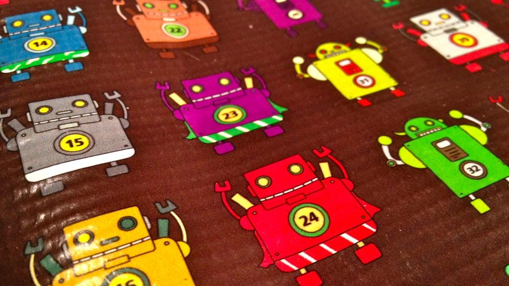 Fu-Design ROBOT 99 iPad Sleeve 2