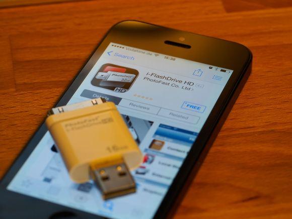 PhotoFast i-FlashDrive HD 2-5