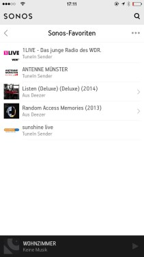 Sonos Controlle App iPhone2