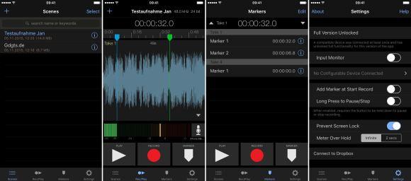 Sennheiser ClipMic digital iPhone Screens