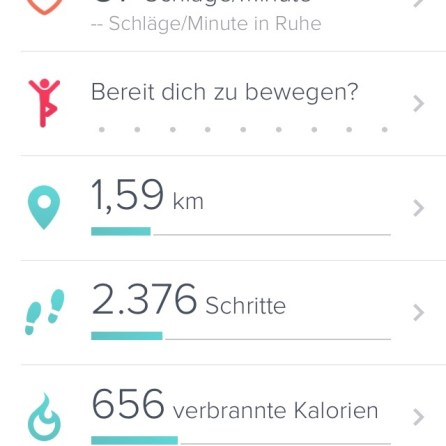 Altes Dashboard-Design.