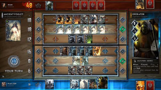 Gwent Gameplay Screenshot
