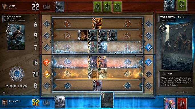 Gwent Spiel Screenshot