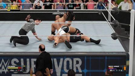 WWE 2K17 Review Pin