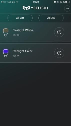 Yeelight App Overview