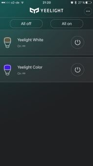 Yeelight App Overview