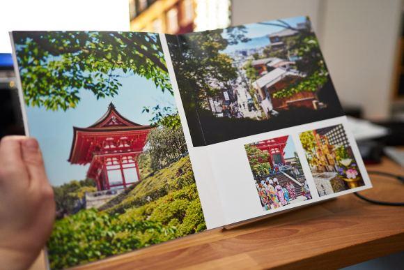 Saal Digital Fotobuch – Eine Doppelseite