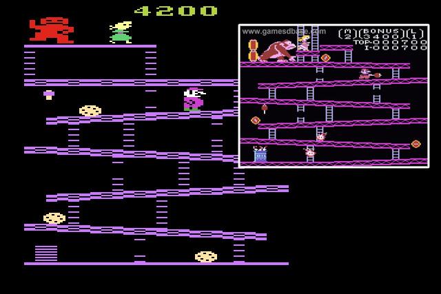 Donkey Kong Atari Colecovision