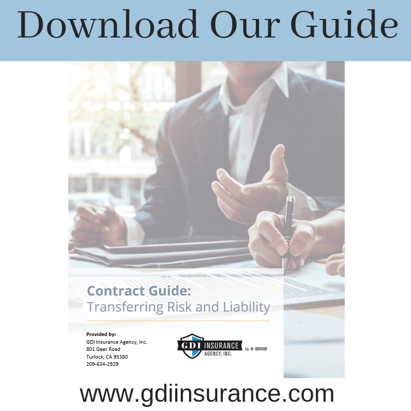 What is Contractual Risk Transfer? | GDI Insurance