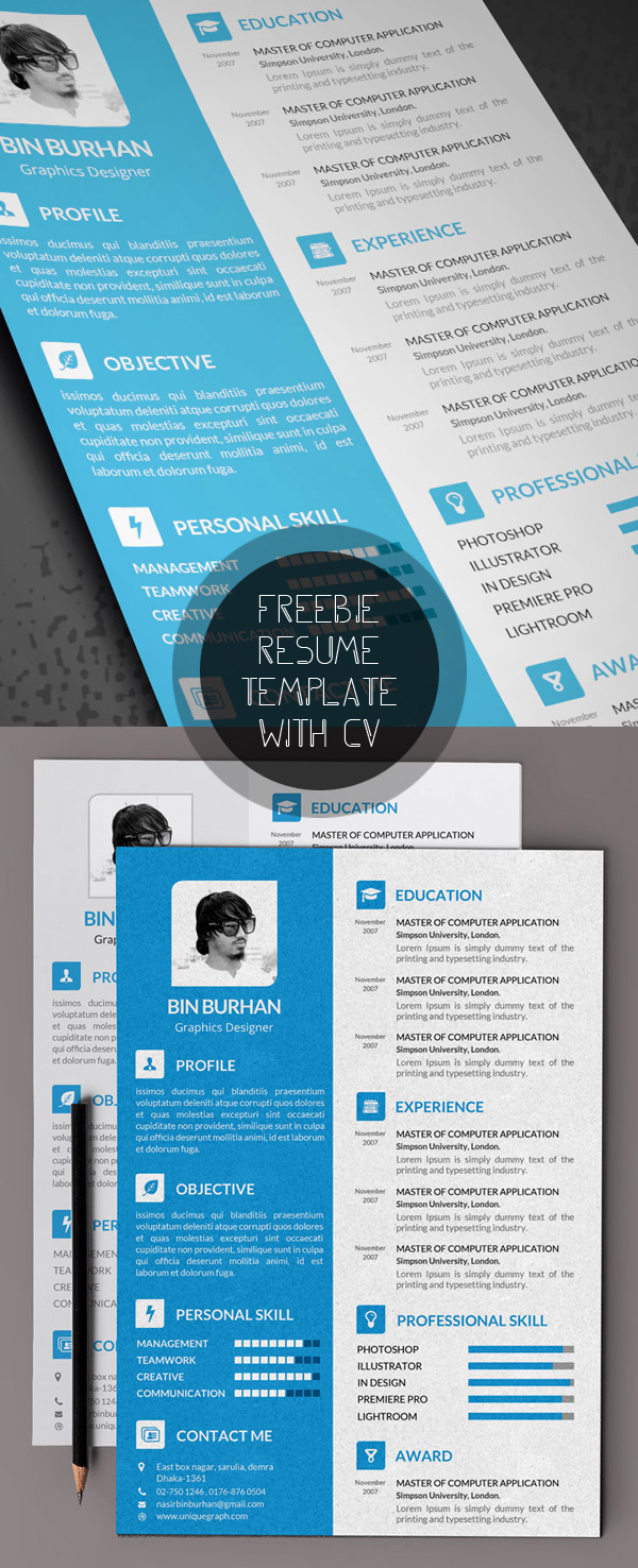 Resume Download Template Free Free Modern Resume Templates Psd Mockups Freebies Graphic