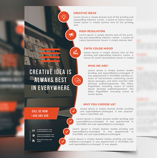 25 Professional Corporate Flyer Templates  Design  Graphic Design Junction