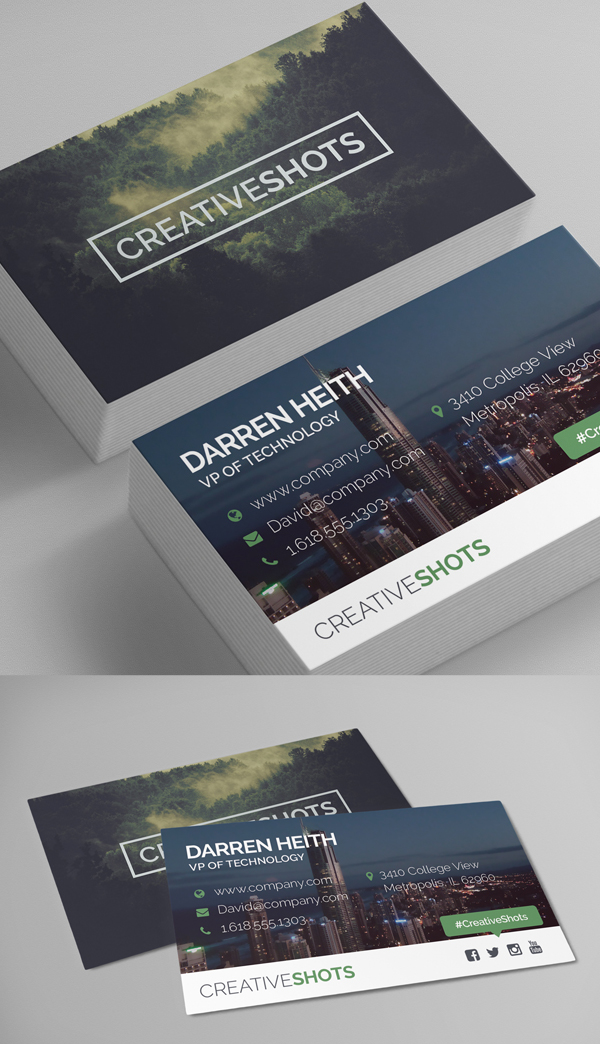 Business Card Templates 26 New Print Ready Designs