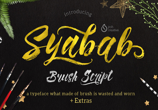 40 Best Free Brush Fonts for Designers  Fonts  Graphic