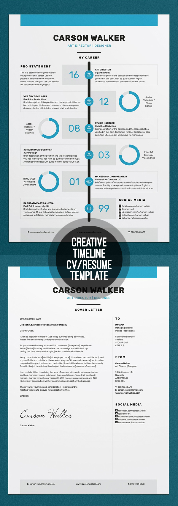 free resume template download for pages