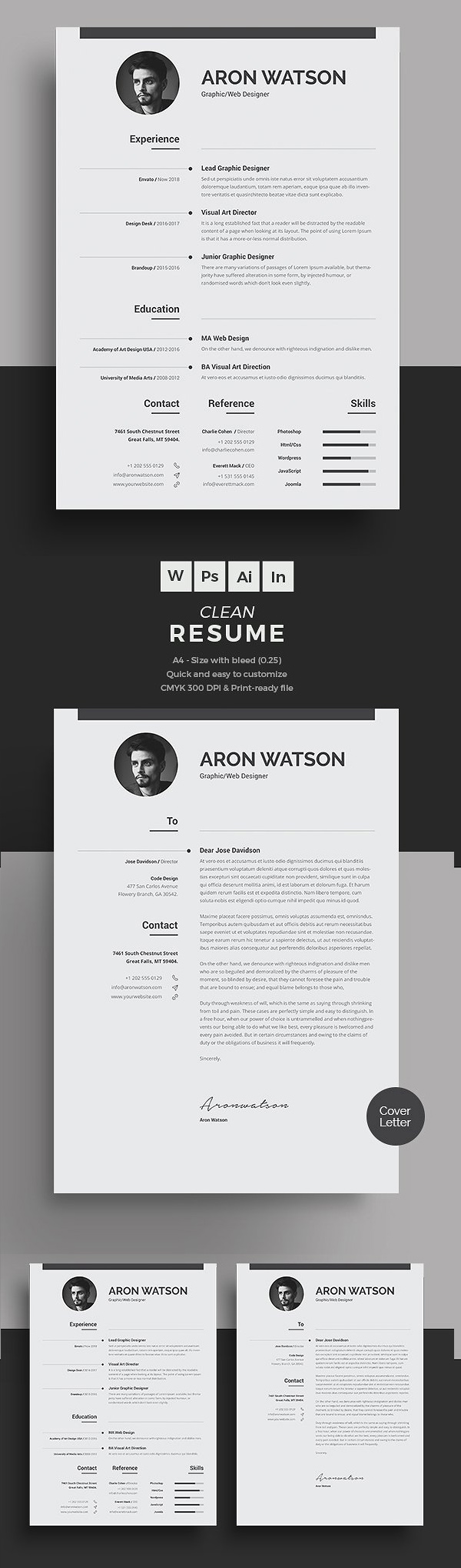 50 Best Resume Templates For 2018 - 20