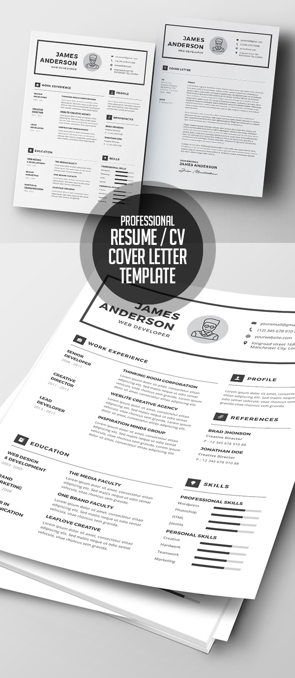 50 Best Resume Templates For 2018 - 35
