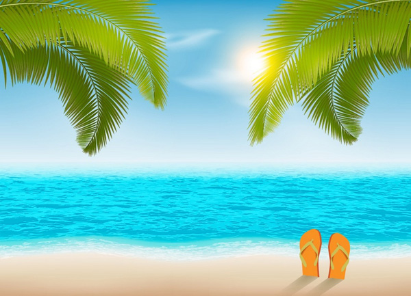 How to Create a Vacation Beach Background in Adobe Illustrator