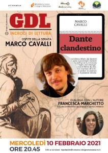 """Gruppo """"Incroci di Lettura"""" – Dante clandestino, di Marco Cavalli"""