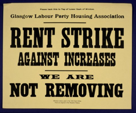 rent strike