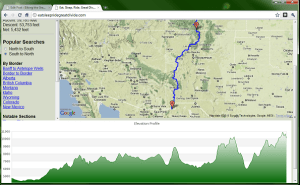 Image result for Elevation Profile Map: