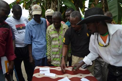 Community Leaders Order their Community Priorities, Angola