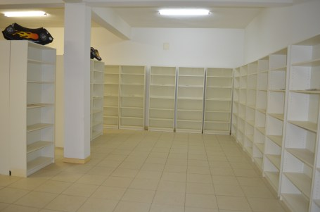 Empty Library In Angolan Orphanage. This was a corporate donation gone wrong- Where are the books?