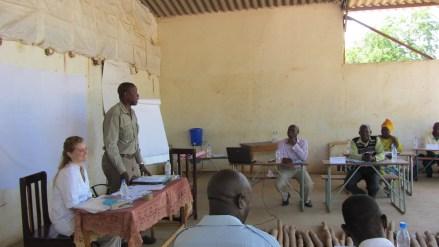 Senior Chief addresses workshop