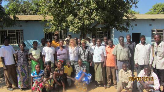 Headmen Meeting, Rural Zambia