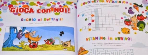 Vitamini libro giochi