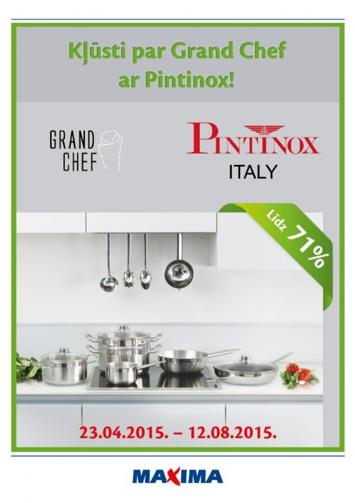 Maxima Pintinox Grand Chef