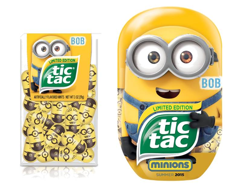 Minions Tic Tac Ferrero