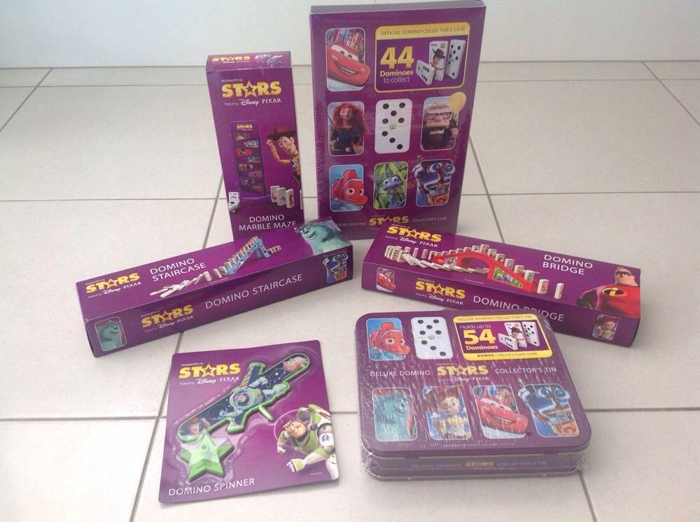 Merchandising Domino Stars