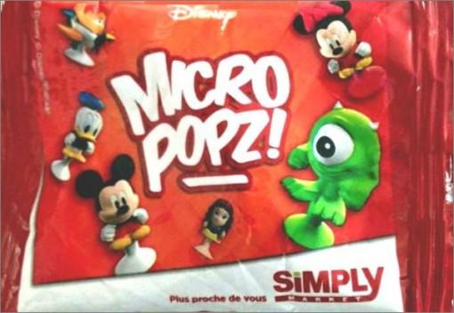 Simply market Micro Popz busta