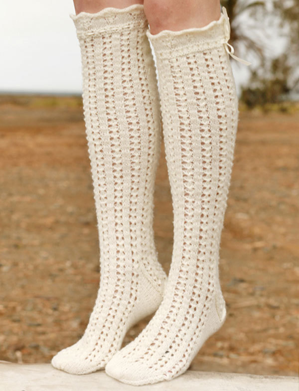 Knitted golf knitting needles with detailed description and schemes