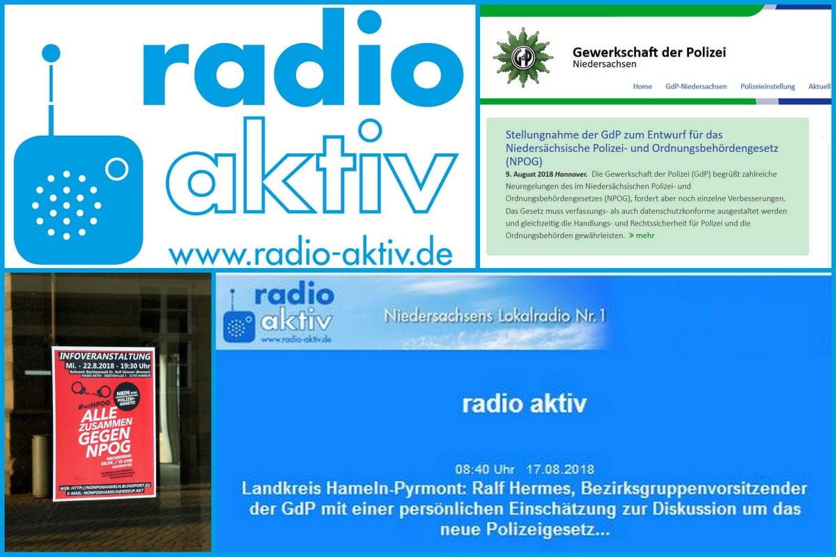GdP-Interview zur Diskussion über das neue niedersächsische Polizeigesetz