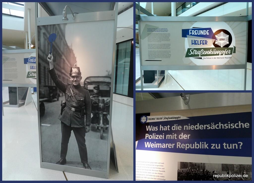 """Informationssammlung zur Ausstellung: """"Freunde, Helfer – Straßenkämpfer"""" im Landtag Niedersachsen / Hannover"""