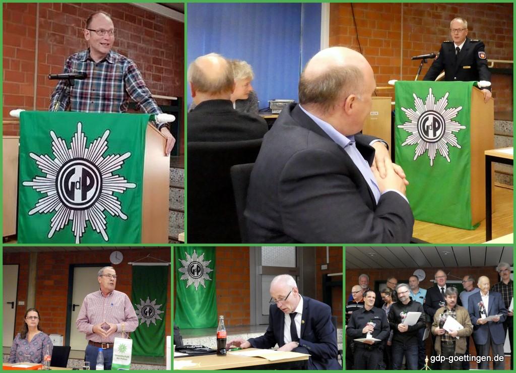 Verlaufsbericht JHV GdP KG Göttingen am 07.11.2018