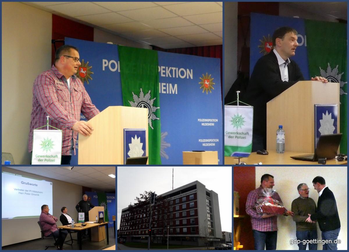 Positonstausch im Vorstand der GdP Kreisgruppe Hildesheim