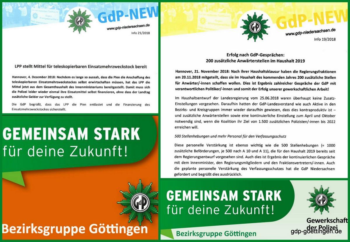Erfolge unserer Arbeit: Gemeinsam stark!  Kreisgruppen, Bezirksgruppen und Landesbezirk