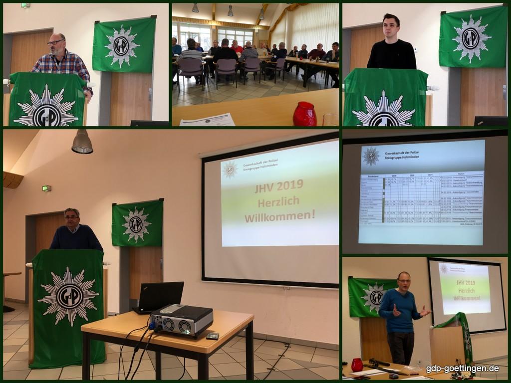 Jahreshauptversammlung 2019 der GdP Kreisgruppe Holzminden