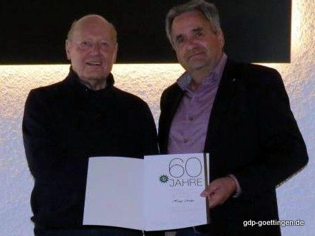 Hugo Röder – 60 Jahre Gewerkschaft der Polizei Niedersachsen (GdP)