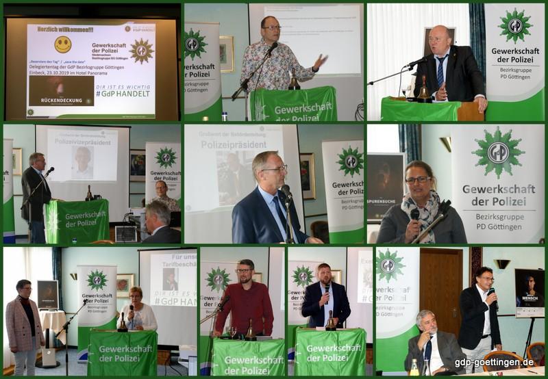 Einstimmige Zustimmung zum Personalkonzept der GdP Bezirksgruppe Göttingen