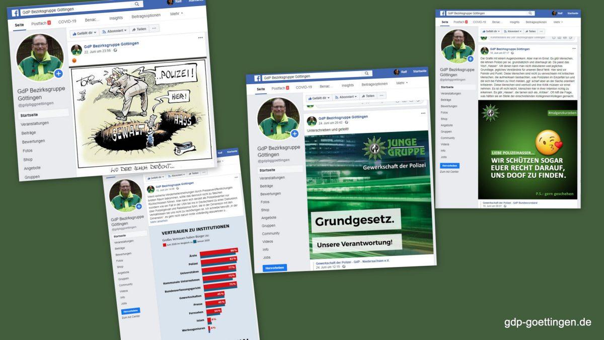 Gegensteuern – Gewerkschaftsarbeit bei Facebook transparent machen.