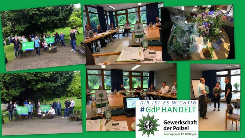 Sommerinfo (Mitgliederrundbrief) der GdP Bezirksgruppe Göttingen